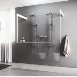 Paroi de douche KUADRA HF FRAME avec étagères porte-objets