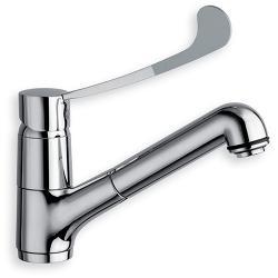 Mitigeur de lavabo CLINIC avec douchette (PMR)