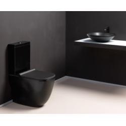 Pack WC à poser WILD Noir Mat