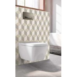 Habillage décoratif Bâti WC DECOFAST Artiste - Damier Lin