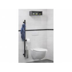 Barre d'appui et de maintien multifonctions ARSIS pour WC