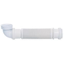 Siphon souple ultra-plat SENZO pour lavabo