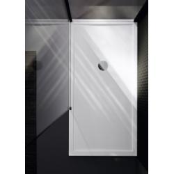 Receveur Olympic Plus Blanc - Hauteur 12.5 cm - 120x70 cm