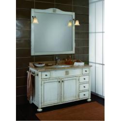 Meuble de salle de bain Ricordi Composition 28 Blanc Antique