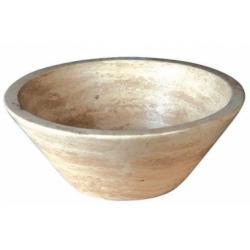 Vasque à poser en pierre conique diamètre 42cm UR1005