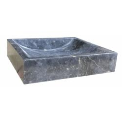 Vasque à poser en pierre rectangulaire noir UC3007