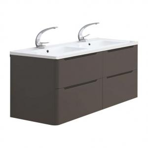 Meuble double vasque 120cm TOOLA Argile