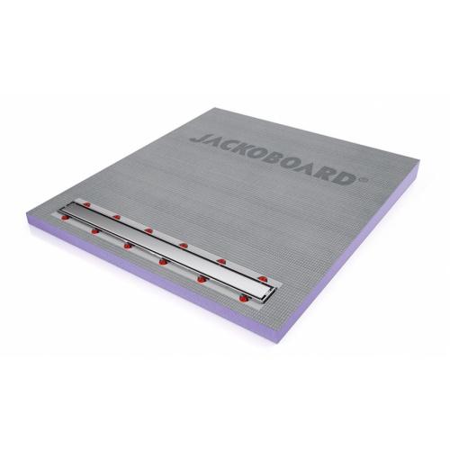 Receveur JACKOBOARD Aqua line Pro 140x130 SV écoulement linéaire