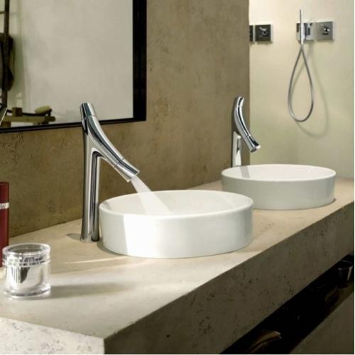 Mitigeur lavabo Design haut Axor Starck Organic 12013000 30092