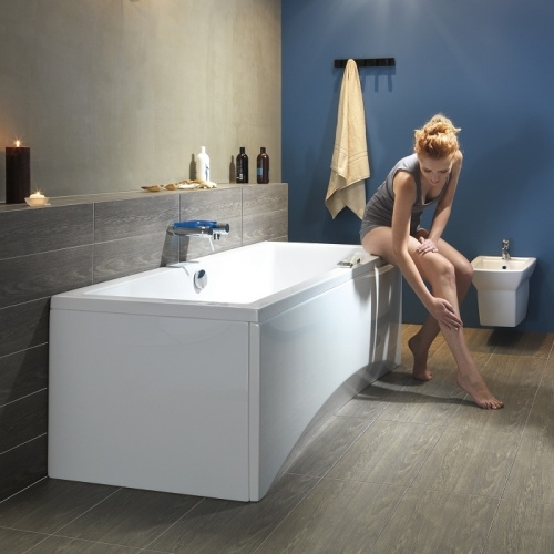 Baignoire rectangulaire 160x75 Intro sans tablier Intro plan 2 model zoom