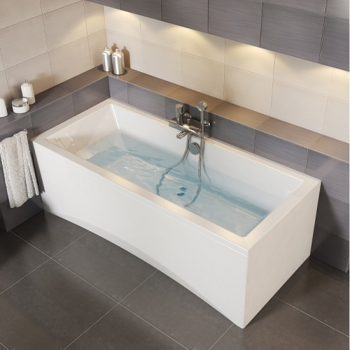 Baignoire rectangulaire 160x75 Intro sans tablier Intro plan zoom