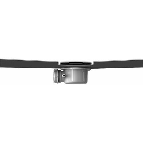 Receveur KINESURF Extra-plat Blanc - 70x120 cm Bonde kinesurf 4 cm