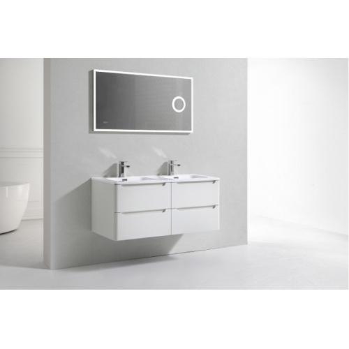 Meuble double vasque 120cm TOOLA Ivoire sans miroir 2r2a9573