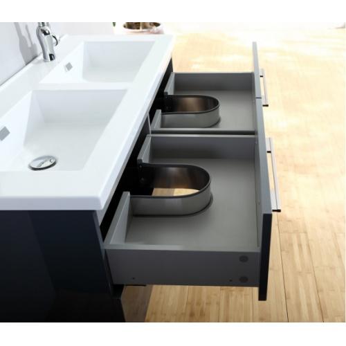 Meuble double vasque 117 Saturn 2.0 Gris Brillant sans miroir Img006169(jpeg)