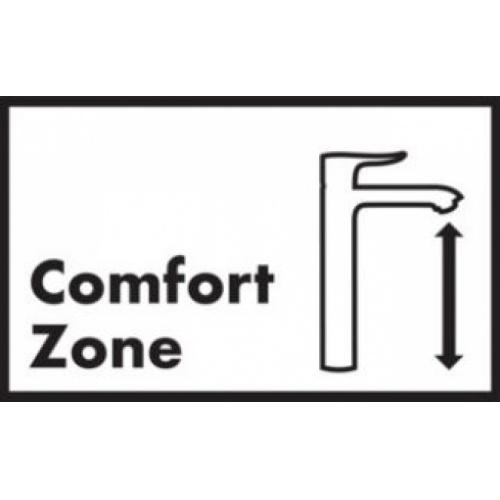 Mitigeur lavabo LOGIS 100 Eco CH3 CoolStart sans tirette* Comfort zone