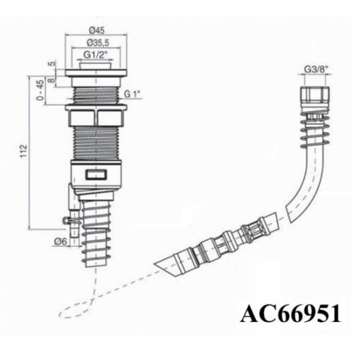 Pack confort Triverde thermostatique sur gorge - XE1420 Schéma ac66951