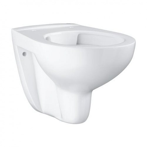 Pack WC Geberit UP320 + Cuvette GROHE sans bride Bau Ceramic + plaque sigma CHR brillante 39427000 1 1