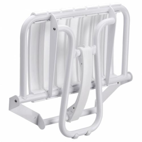 Siège de douche escamotable Assise grande taille - Blanc 047632 siege de douche grande taille blanc (1)