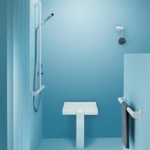 Siège de douche escamotable Arsis Blanc* Siege de douche arsis blanc (3)