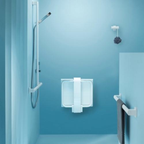 Siège de douche escamotable Arsis Blanc* Siege de douche arsis blanc (4)