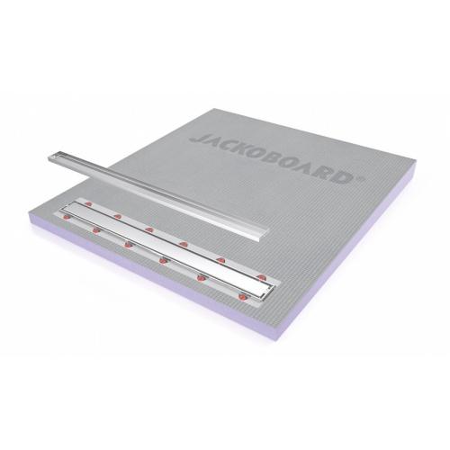 Receveur JACKOBOARD Aqua line Pro 140x130 SV écoulement linéaire Jackoboard_AquaLine_Pro_open_RGB