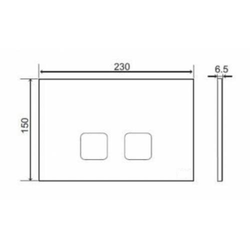 Pack WC Bâti-support Evo + Cuvette sans bride Rimless + Plaque Blanche plan tech plaque cde plain regiplast