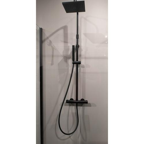 Colonne de douche avec douche de tête EASY 2 Noir* IMG_20190313_111046