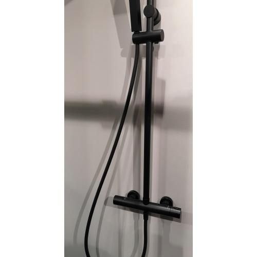 Colonne de douche avec douche de tête EASY 2 Noir* IMG_20190313_110231