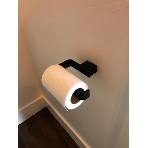 Porte-rouleau papier WC LOUNGE Noir* 5424-14 Ambiance