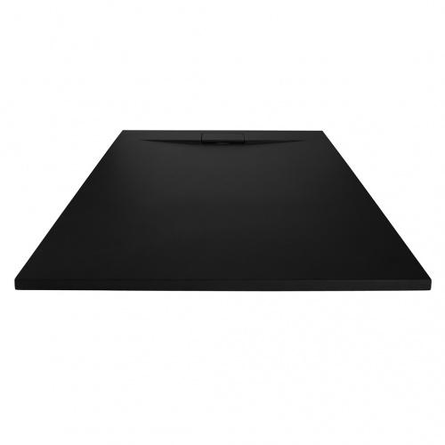 Receveur de douche RADIANCE texture Lisse Noir 80x90 cm Radiance_noir3