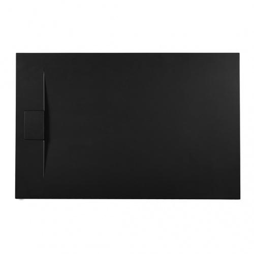 Receveur de douche RADIANCE texture Lisse Noir 80x90 cm Radiance_noir1