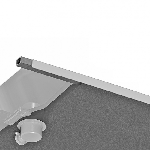 Receveur KINESURF Extra-plat Blanc - 70x120 cm Kinesurf 4 cm - Coupe materiaux