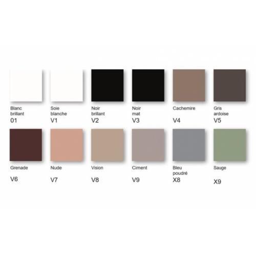 Vasque rectangulaire à poser IPALYSS Sauge - 55x38 cm Coloris IPALYSS