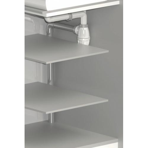 Tubulure de raccordement Bi-matière Gain d'espace lavabo-gain-place