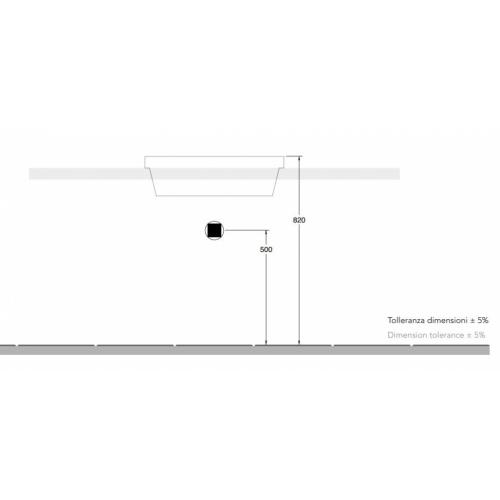 Vasque à encastrer TEOREMA 2.0 60 cm - 5131 5131 Installation