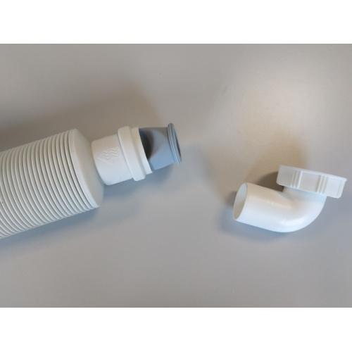 Siphon souple ultra-plat SENZO pour lavabo Senzo1