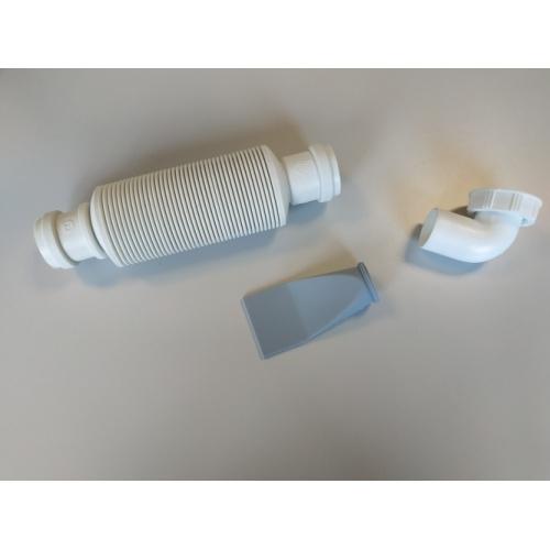 Siphon souple ultra-plat SENZO pour lavabo SENZO2
