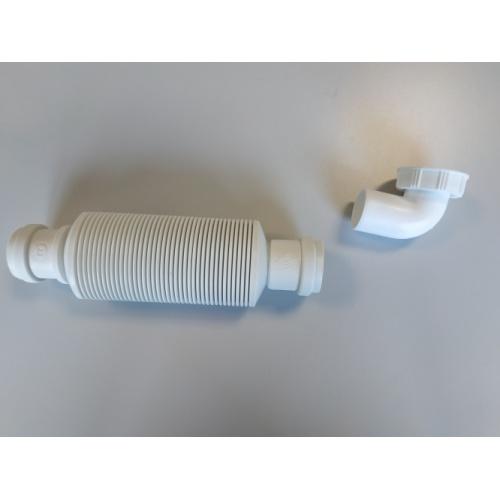 Siphon souple ultra-plat SENZO pour lavabo SENZO 3