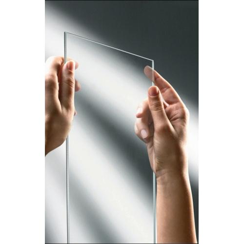 Paroi de douche Fixe KUADRA H Transparent 30cm - Profilé Chromé 1 verre transparent