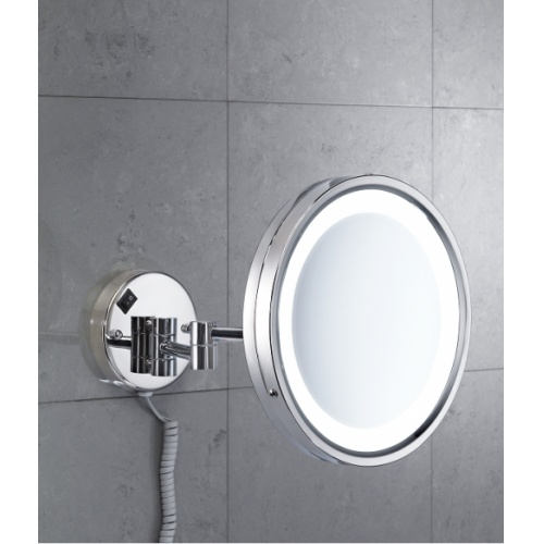 Miroir mural orientable grossissant avec Eclairage LED - 2118 Vincent 2118