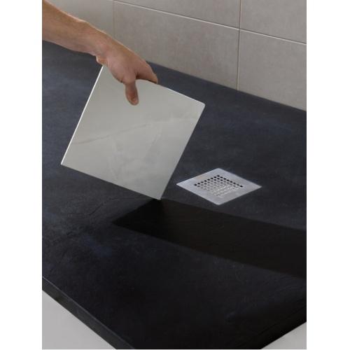 Receveur de douche souple SOFT Gris Béton 70x120cm Plato poliuretanano 4 soft baños10 [1600x1200]