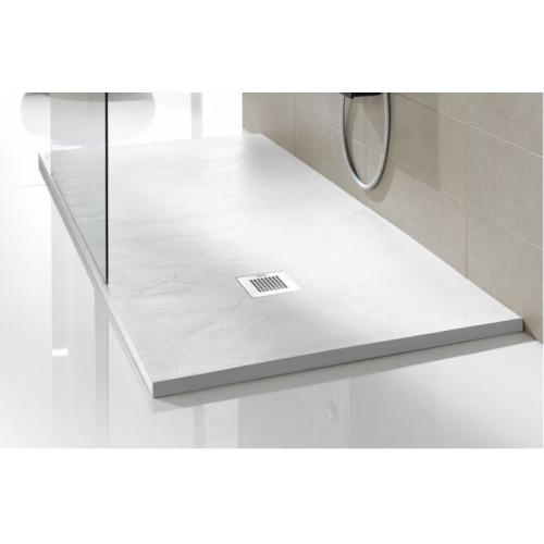 Receveur de douche souple SOFT Noir 80x80 cm Plato poliuretanano blanco soft baños10 [1600x1200